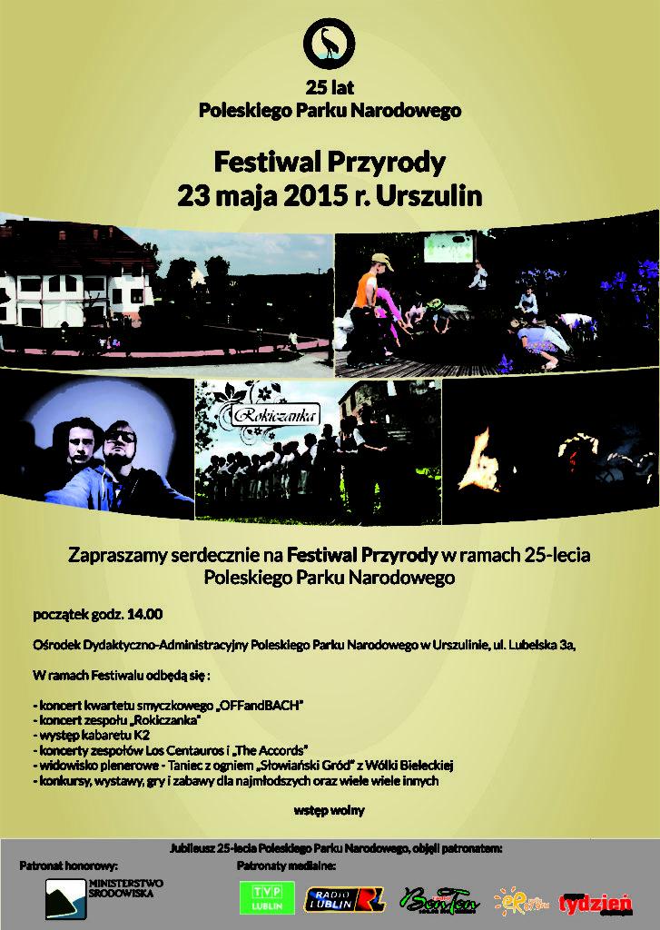 plakat festiwal przyrody urszulin 205 05 23 Kopia 727x1024 Rokiczanka na Festiwalu Przyrody!