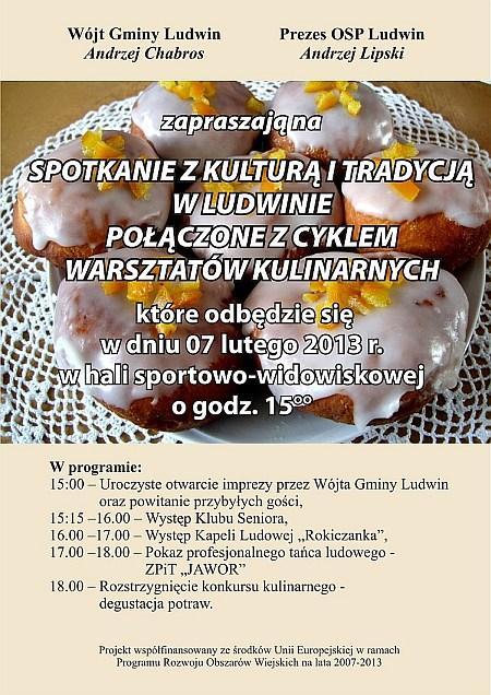 plakat tlustyczwartek m Kopia Rokiczanka na żywo w Ludwinie!