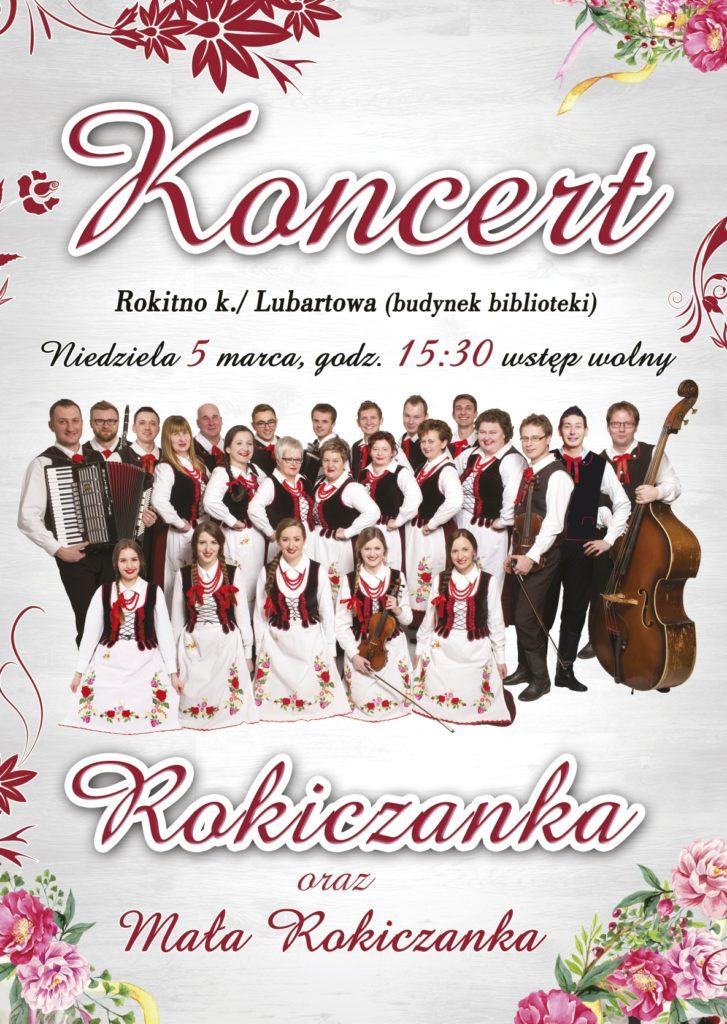 plakat facebookJPG 727x1024 Zapraszamy na koncert do .... Rokitna!