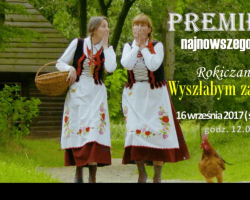 plakat promujący teledysk na fb 2