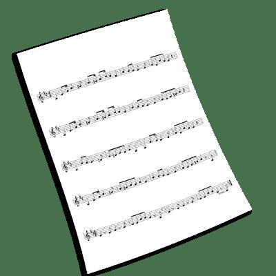 """Pastorałka od serca do ucha"" – sheet music for piano"