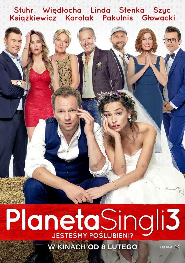 PLAKAT PLANETA SINGLI 3 oficjalny plakat 720x1024 Film Planeta Singli 3 z muzycznymi produkcjami Rokiczanki